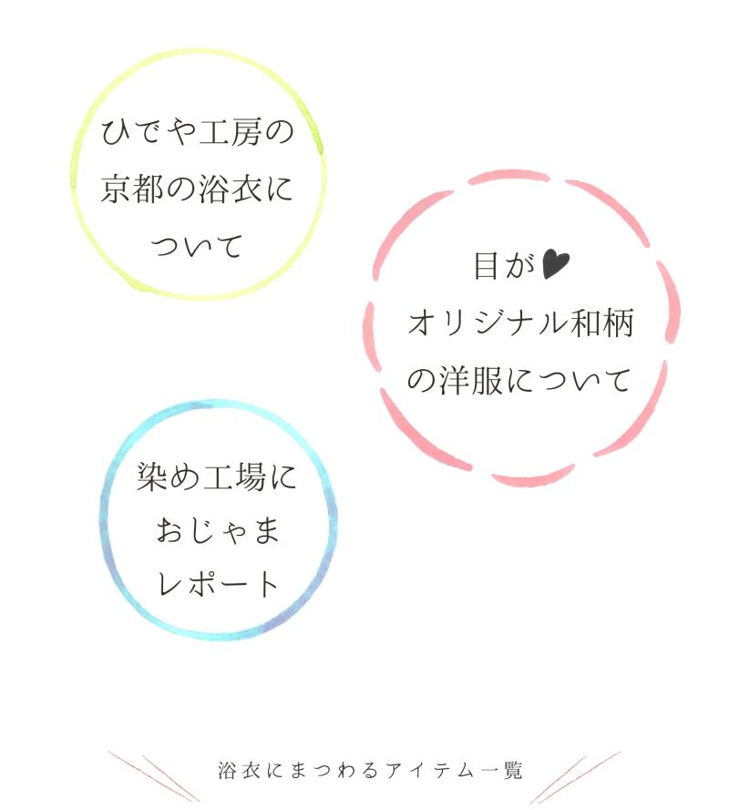 ひでや工房の京都の浴衣について、目がハートオリジナル和柄の洋服について、染め工場におじゃまレポート