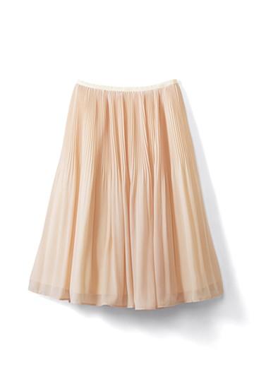 エムトロワ ミルフィーユみたいな繊細プリーツスカート <ピンク系その他>の商品写真