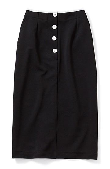 SHE THROUGH SEA #のびやかタイトスカート <ブラック>の商品写真