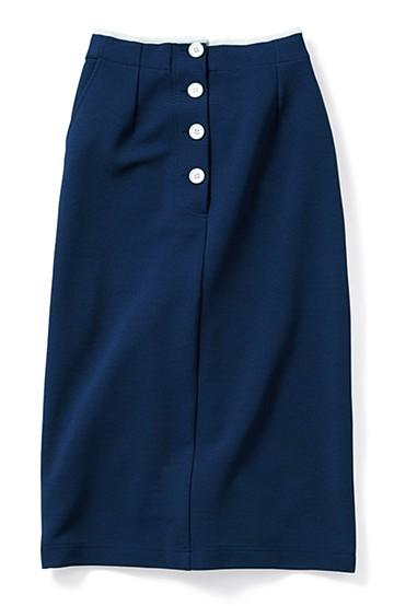SHE THROUGH SEA #のびやかタイトスカート <ネイビー>の商品写真