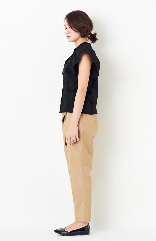ロジーズ タイパンツみたいなすっきりパンツ <ベージュ>の商品写真5