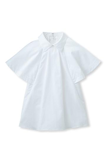 ロジーズ フレンチスリーブのテントライントップス <ホワイト>の商品写真