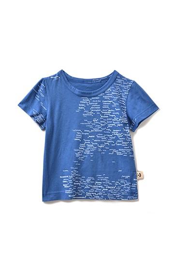 haco! CNL for  PBP wearable earth Tシャツ キッズサイズ <ブルー>の商品写真