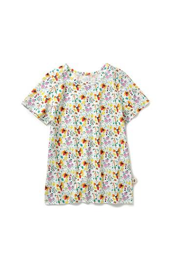 haco! CNLforPBP インドのこどもが描いた総柄Tシャツ〈レディース〉 <ハチ柄>の商品写真