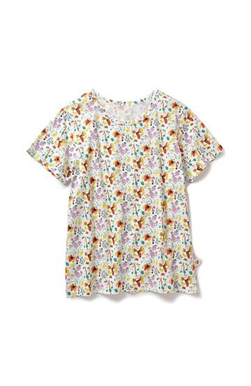 haco! CNLforPBP インドのこどもが描いた総柄Tシャツ〈メンズ〉 <ハチ柄>の商品写真