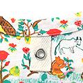 haco! CNLforPBP インドのこどもが描いた総柄Tシャツ〈メンズ〉 <リス柄>の商品写真2