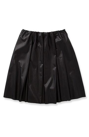 エムトロワ オトナギャザースカート <ブラック>の商品写真