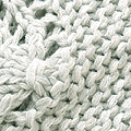 nusy NUSY×inu レディーなシルエット 手編みニット <グレー>の商品写真3