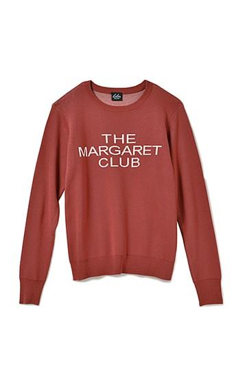&sloe マーガレットクラブ ユニフォームニット <レッド>の商品写真