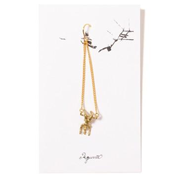 haco! てとひとて Aquvii trapeze pierce  <DOWN>の商品写真