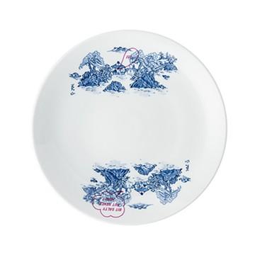 haco! CNLfor美濃焼 TALKING EATING コレクション〈お皿〉 <ホワイト>の商品写真