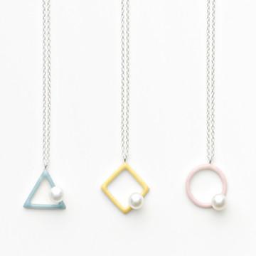 haco! てとひとて Kenichi Kondo wakka pearl necklace <パステル>の商品写真