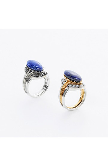 haco! てとひとて×Miss bibi RING IN THE OTHER ONE ブルー <ブルー>の商品写真