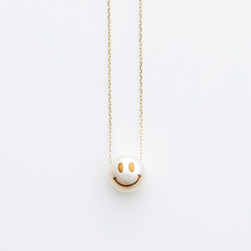 haco! てとひとて KARAFURU MAKIEパール SMILEネックレス <スマイル>の商品写真