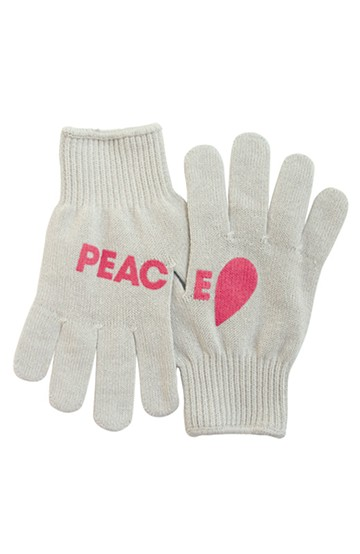 haco! PEACE BY PEACE コットンプロジェクト mente #001  <グリーングレイ×ピンク>の商品写真