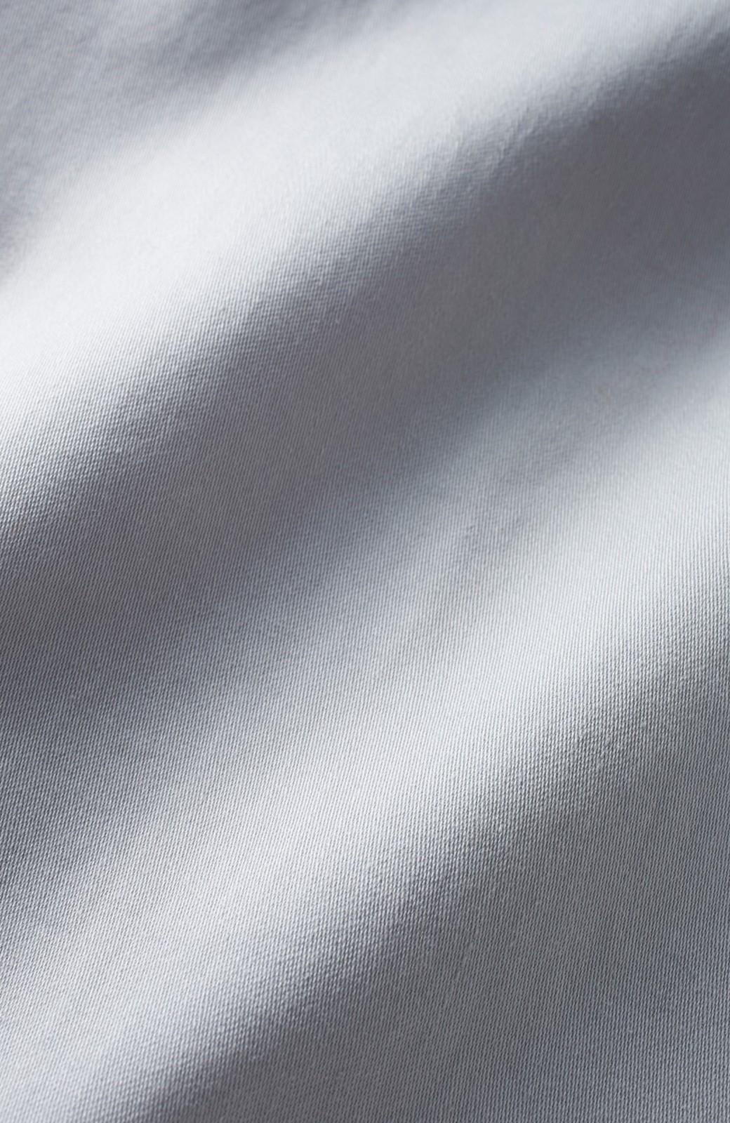 haco! ミモレ丈のフレアースカート by que made me <ライトグレー>の商品写真2