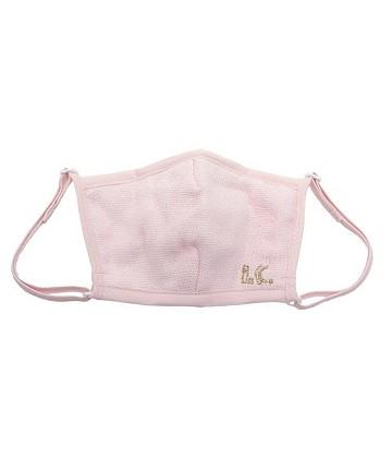 haco! i.c.スペシャルWACフィルターが入れられるポケット付きマスク子供用 <ピンク>の商品写真