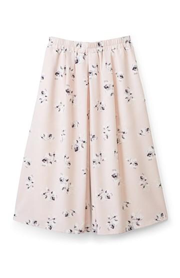 エムトロワ 花柄スカーチョ <ピンク>の商品写真