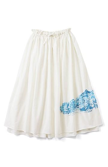 haco! co&tion×haco. 二宮 佐和子  Endless Everest スカート <オフホワイト>の商品写真