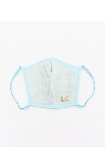 haco! i.c.スペシャルWACフィルターが入れられるポケット付きマスク大人用 <水色>の商品写真