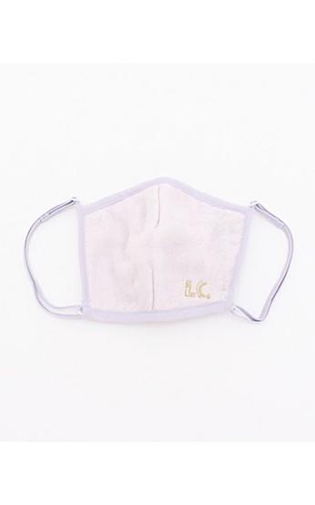 haco! i.c.スペシャルWACフィルターが入れられるポケット付きマスク大人用 <パープル>の商品写真