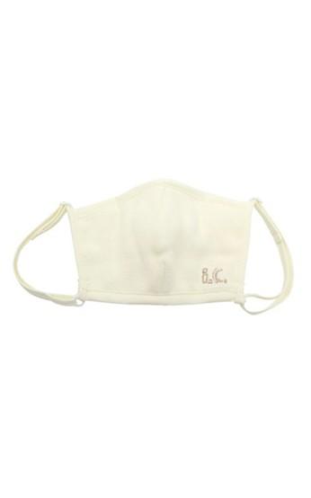 haco! i.c.スペシャルWACフィルターが入れられるポケット付きマスク子供用 <イエロー>の商品写真