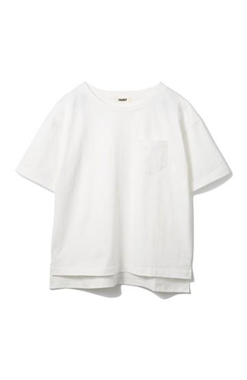 nusy  U.S.A.コットンポケットTシャツ <ホワイト>の商品写真
