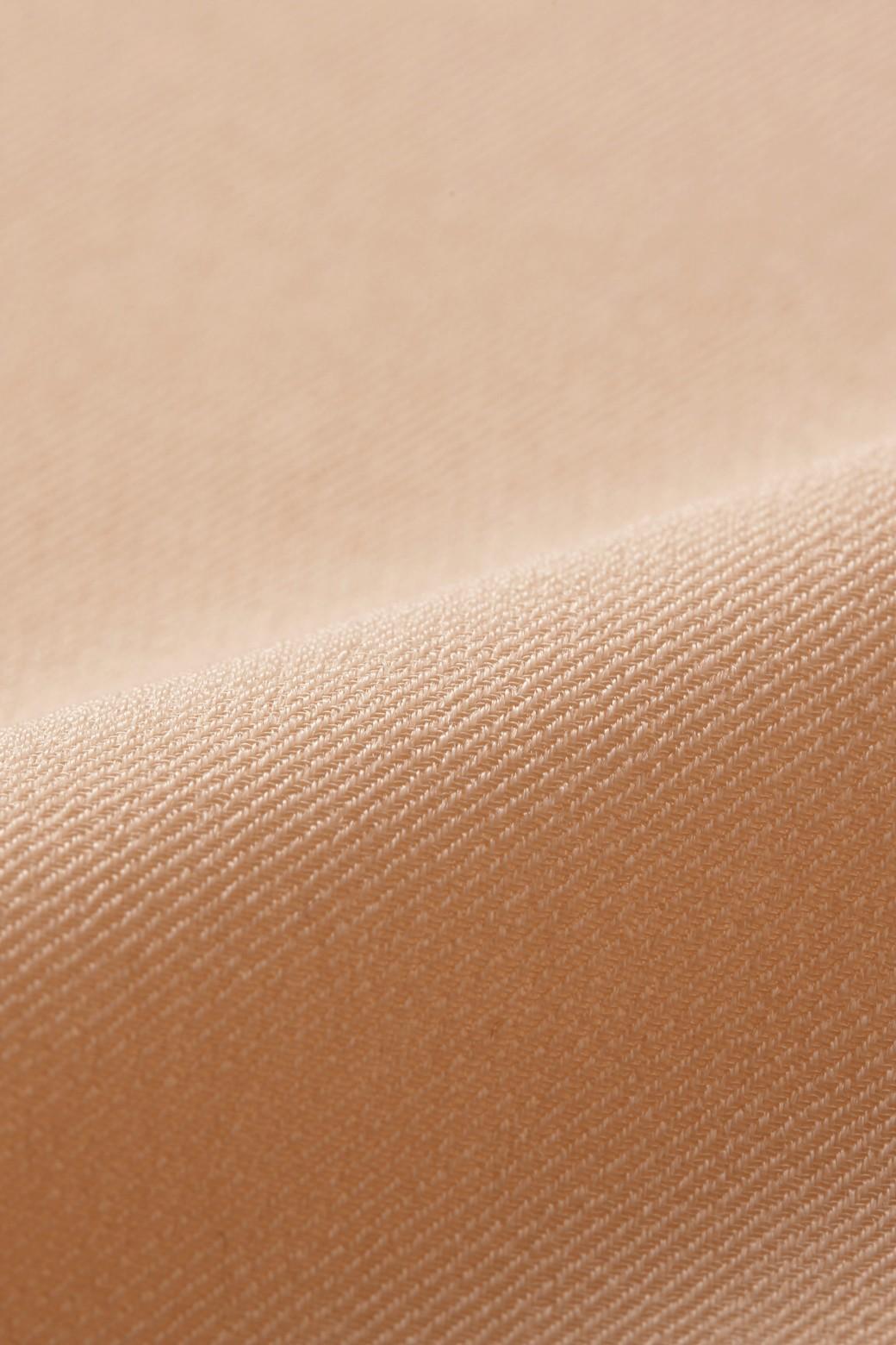 nusy ニュアンスカラーのロングてろりんガウンコート <ベージュ>の商品写真2