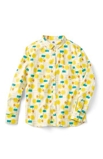 haco! ユニカラート 漆嶌知子 たんぽぽ シャツ <イエロー>の商品写真