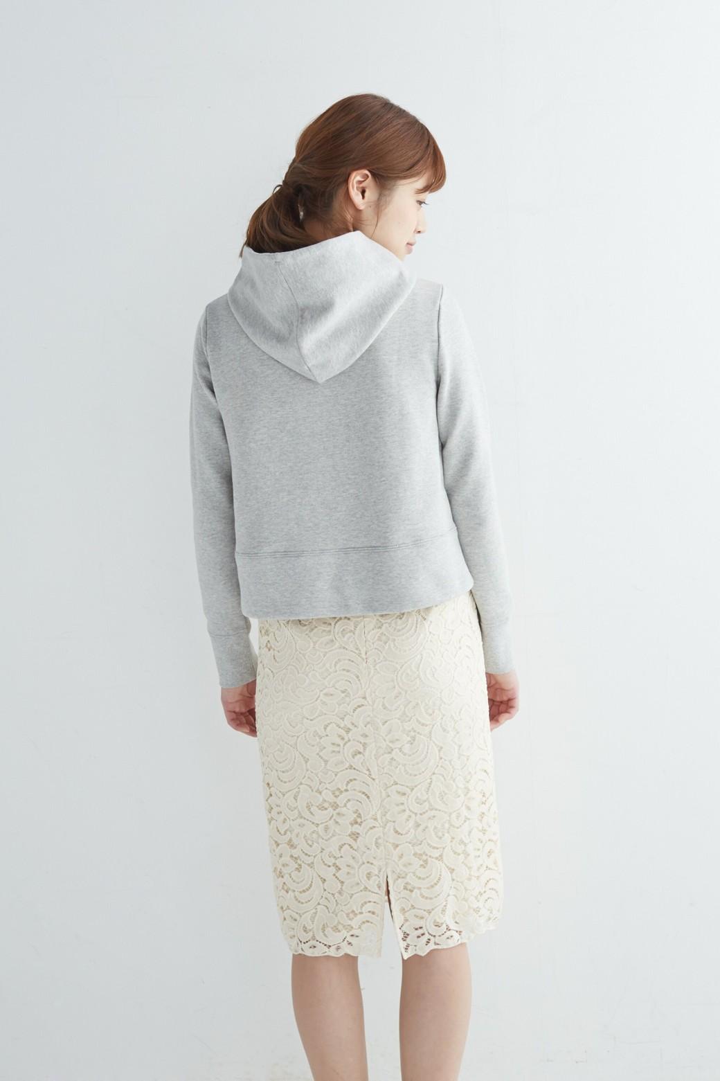 エムトロワ オトナレースのタイトスカート <アイボリー>の商品写真12