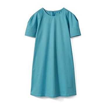エムトロワ 袖がミルフィーユみたいなワンピース <グリーン>の商品写真