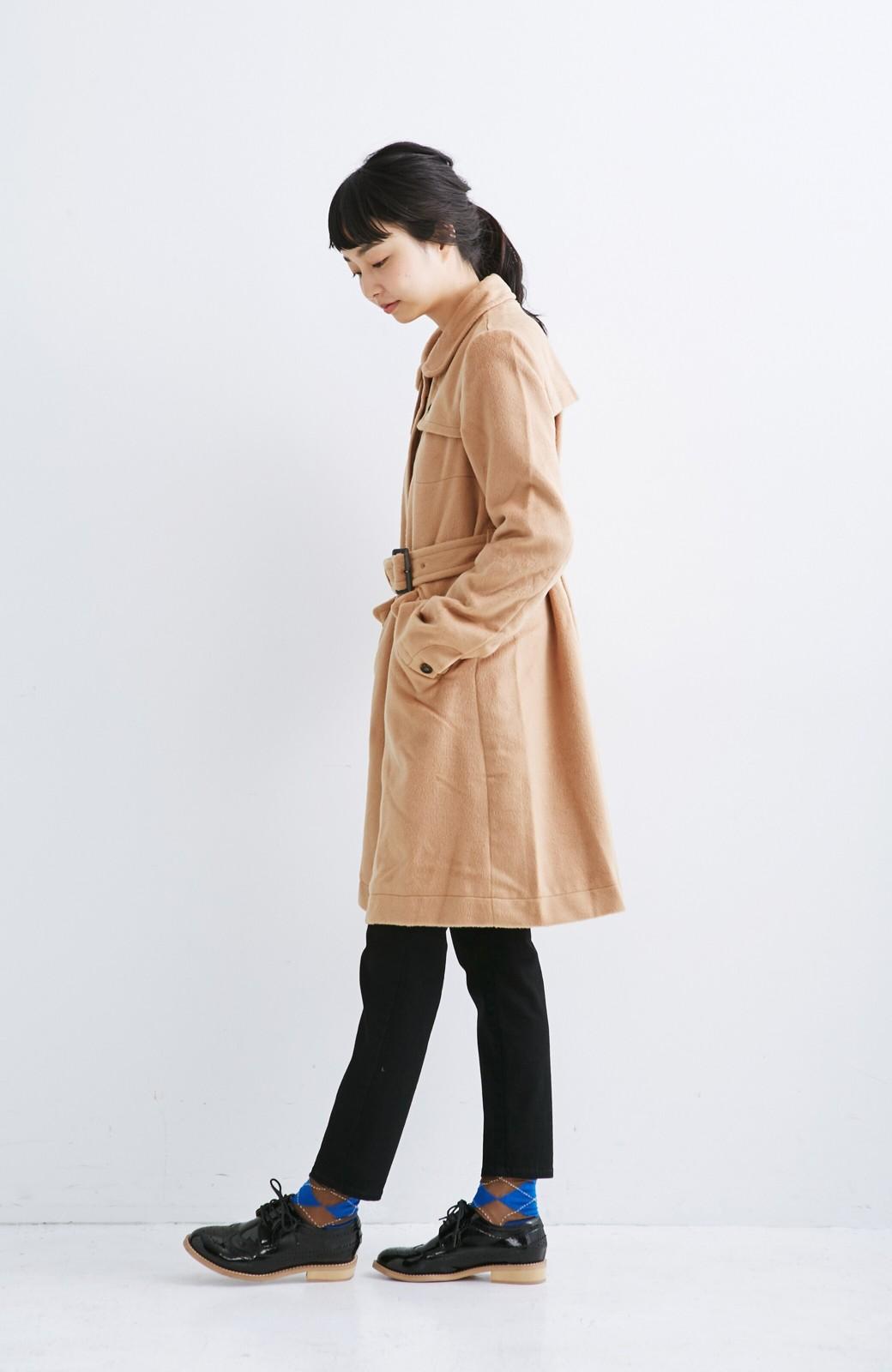 0af695c278e650 nusy ベルト付きキャメルコート<キャメル> | ファッション通販のhaco!