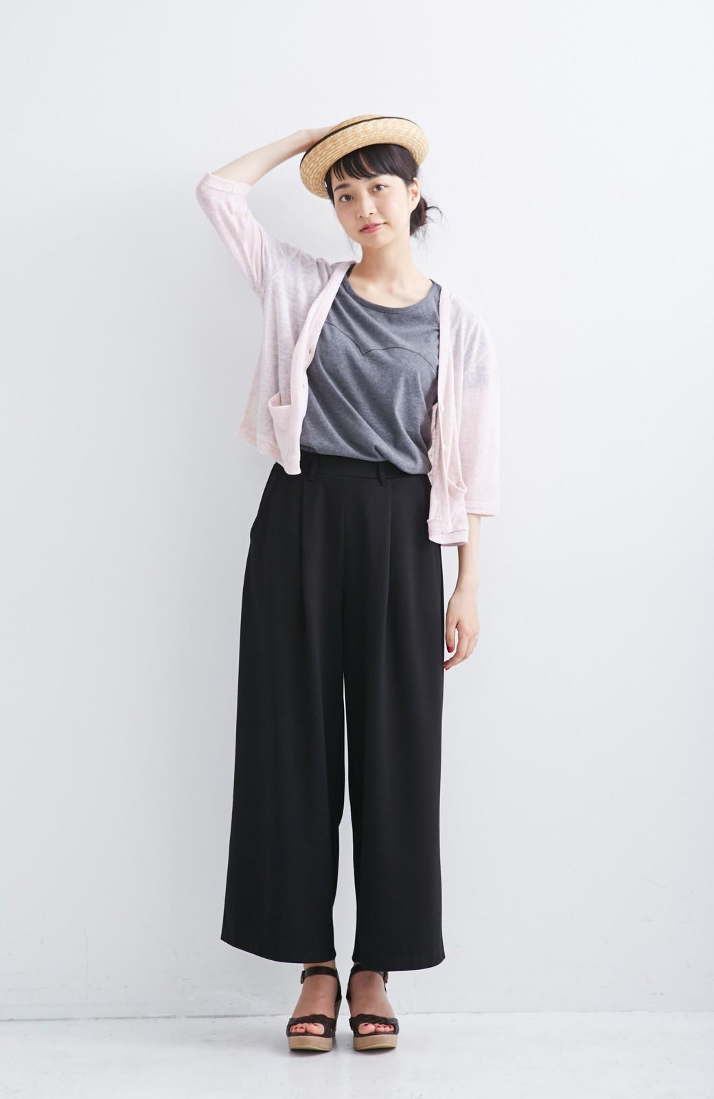 haco! haco.FACTORY カットソーカーディガン&Tシャツセット <ピンク>の商品写真2