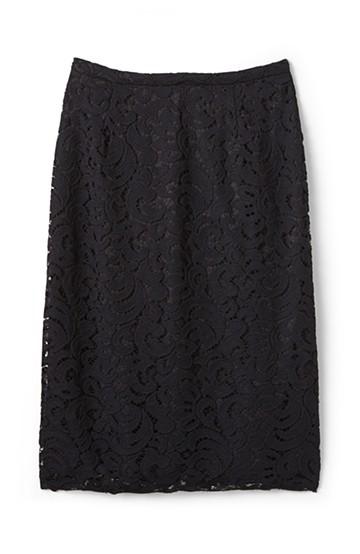 エムトロワ オトナレースのタイトスカート <ブラック>の商品写真