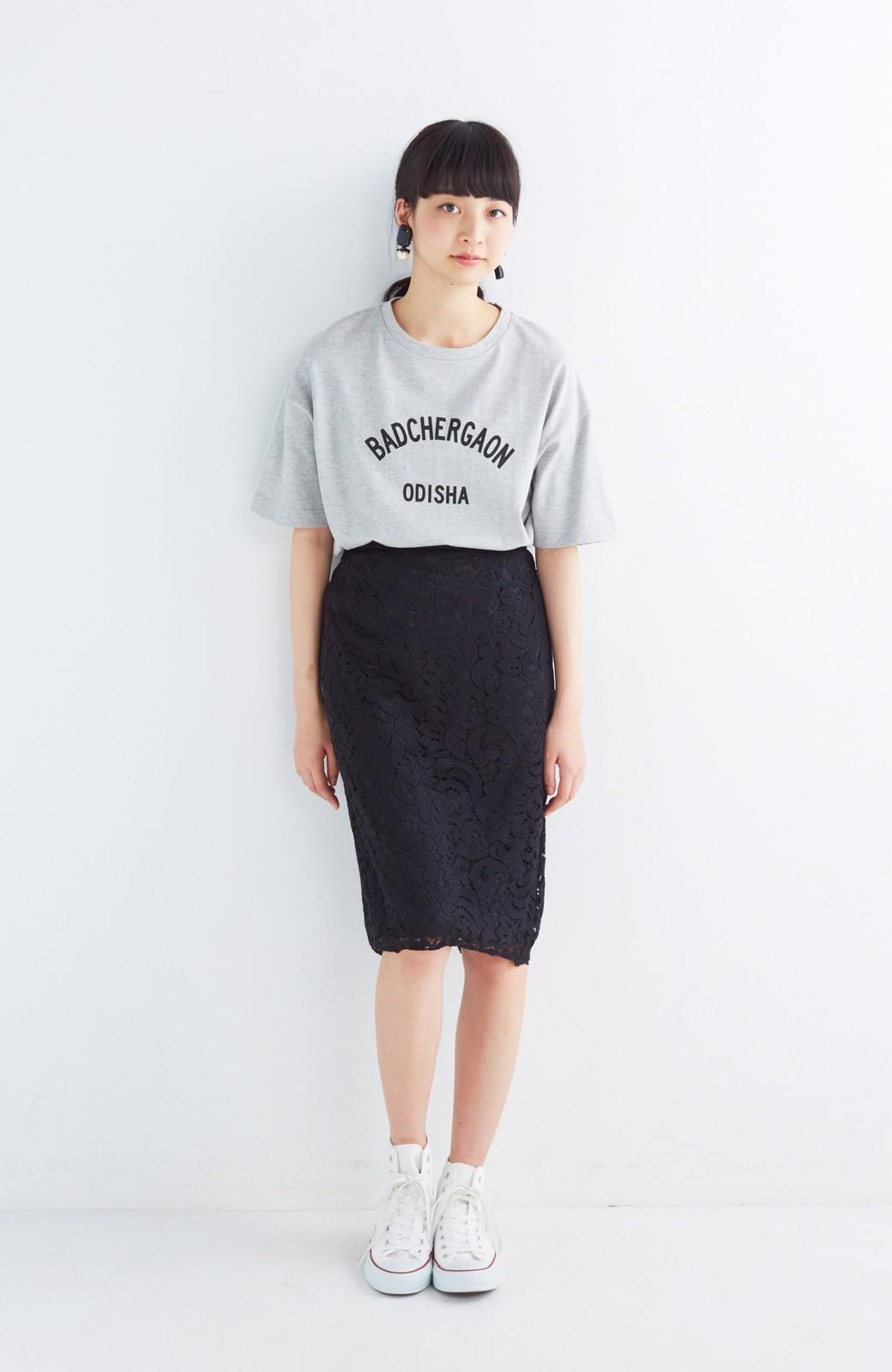 エムトロワ オトナレースのタイトスカート <ブラック>の商品写真11