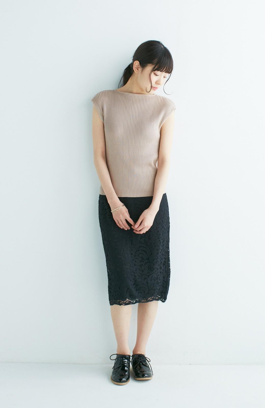 エムトロワ オトナレースのタイトスカート <ブラック>の商品写真12