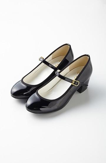 エムトロワ 【mer1月号掲載】結婚式にも便利な歩きやすいストラップシューズ <ブラック>の商品写真
