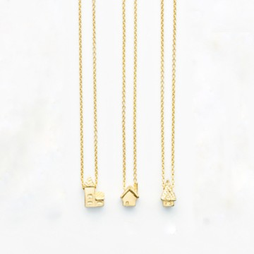 haco! てとひとて Fillyjonk archi necklace  <gold>の商品写真