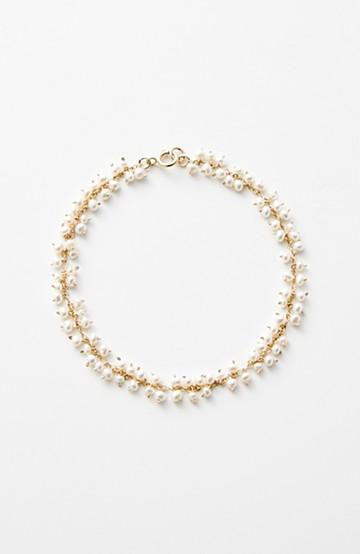 haco! てとひとて asumi bijoux shirotsumekusa ブレスレット <ゴールド>の商品写真