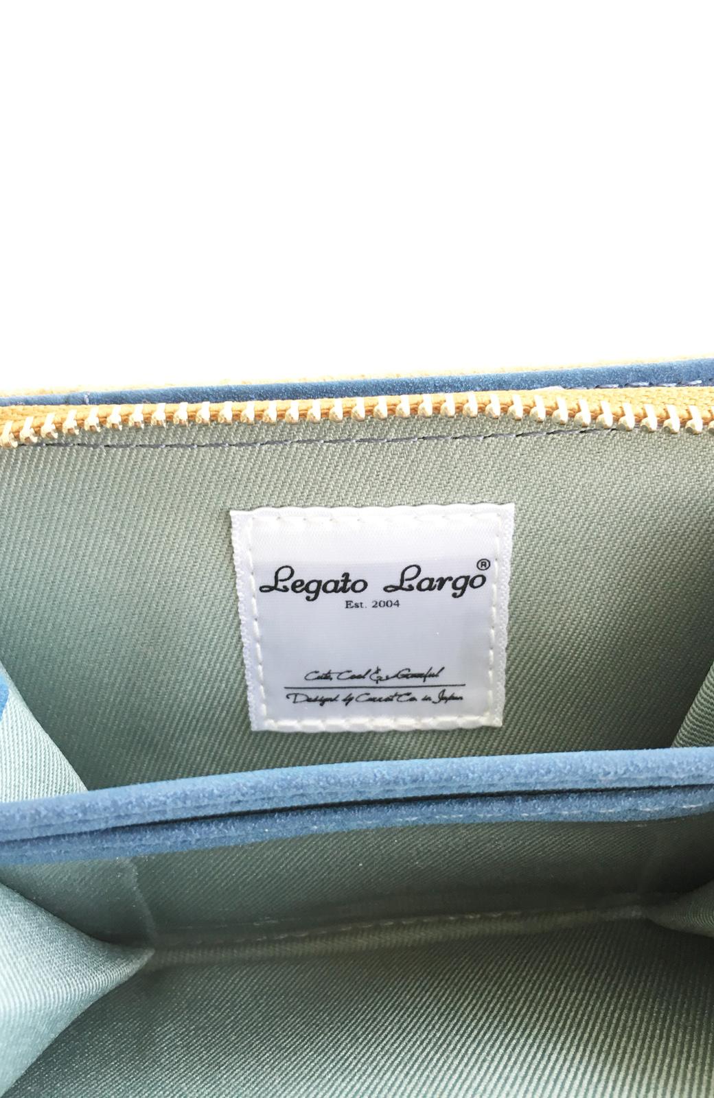 haco! Legato Largo ピッグスエードウォレット <キャメル>の商品写真8