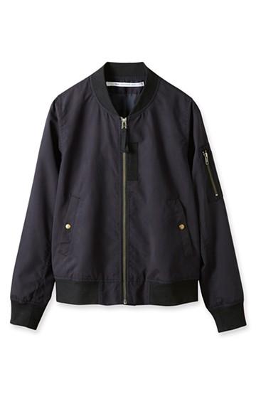 SHE THROUGH SEA きれいめMA-1ジャケット <ネイビー>の商品写真