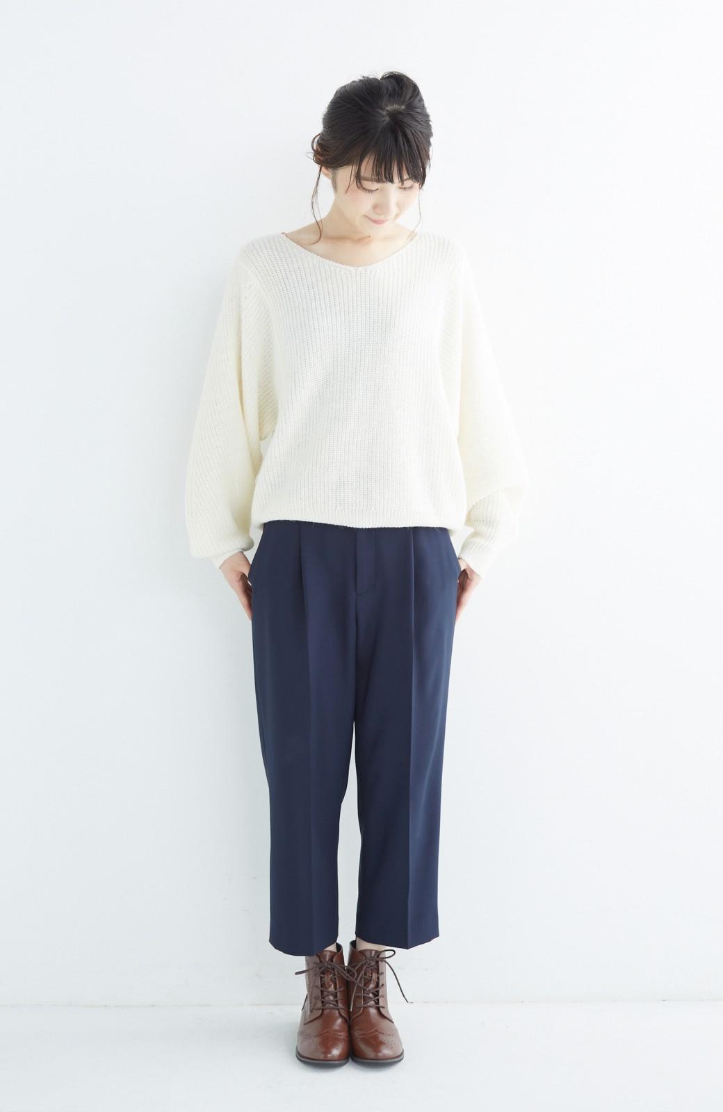 nusy ウィングチップの編みあげブーツ <ブラウン>の商品写真11