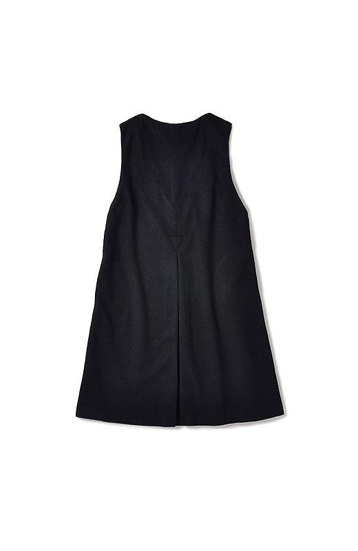 エムトロワ 大人レディーライクジャンパースカート <ブラック>の商品写真3