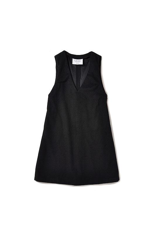 エムトロワ 大人レディーライクジャンパースカート <ブラック>の商品写真2