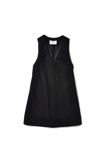 エムトロワ 大人レディーライクジャンパースカート <ブラック>の商品写真