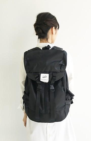haco! 【mini12月号掲載】anello 高密度バックパック <ブラック>の商品写真
