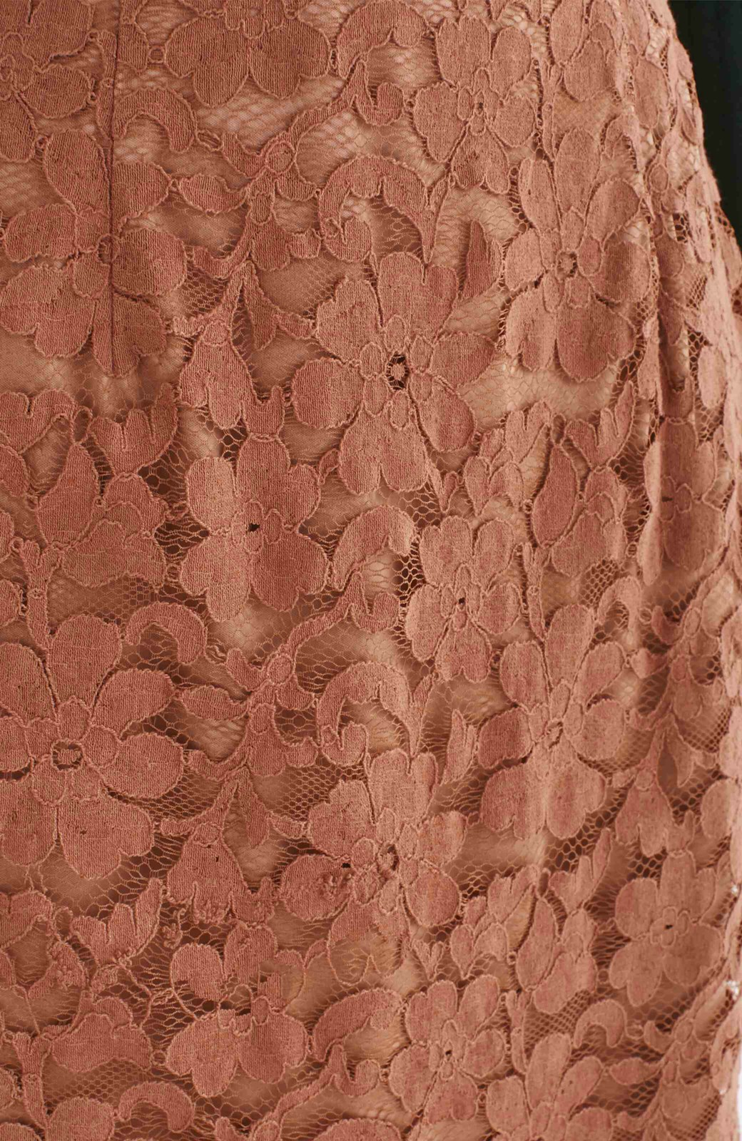 エムトロワ フェミニンレースタイトスカート  <ライトブラウン>の商品写真12