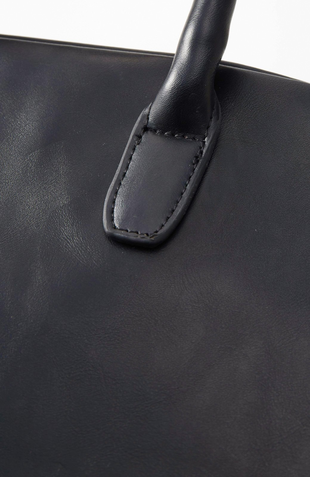 SHE THROUGH SEA マニッシュトート <ブラック>の商品写真2