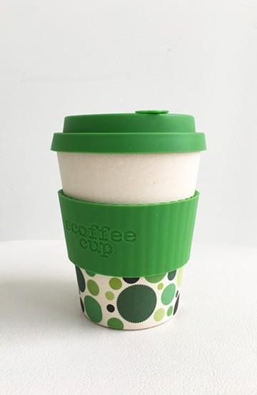 haco! ecoffee cup <グリーン;Gaia>の商品写真