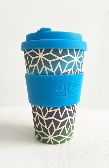 haco! ecoffee cup <ブルー;Stargate>の商品写真